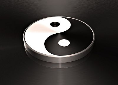 yin yang - random desktop wallpaper