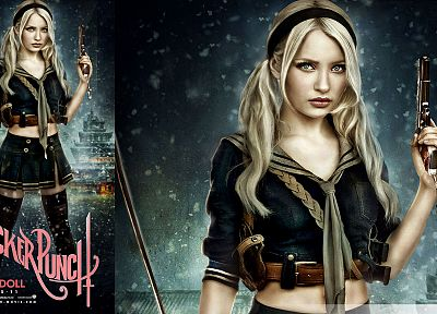Emily Browning, Sucker Punch, Baby Doll - random desktop wallpaper