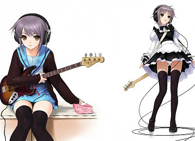Nagato Yuki, The Melancholy of Haruhi Suzumiya - random desktop wallpaper