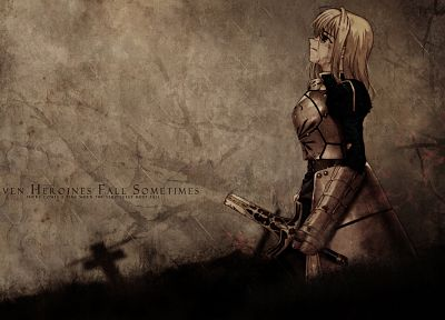Fate/Stay Night, Saber, Fate series - random desktop wallpaper