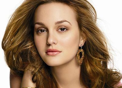 women, Leighton Meester - random desktop wallpaper
