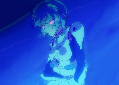 Ayanami Rei, Neon Genesis Evangelion, anime girls - desktop wallpaper