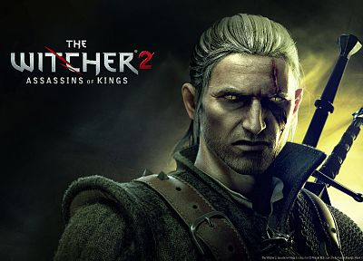 video games, The Witcher - random desktop wallpaper
