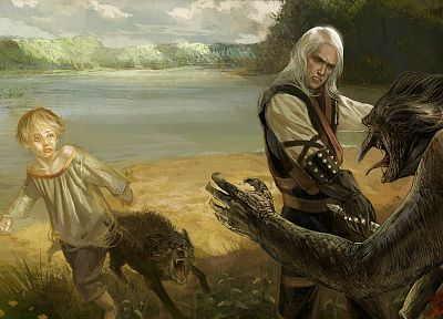 The Witcher, Geralt of Rivia, Alvin - related desktop wallpaper