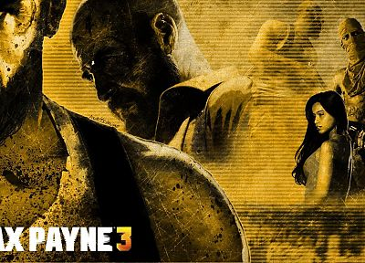 video games, Max Payne 3, pc games - related desktop wallpaper