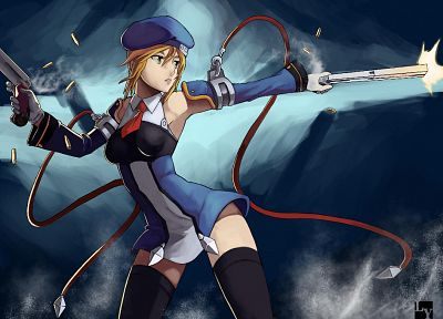 video games, Blazblue, Noel Vermillion - random desktop wallpaper
