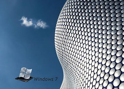 Windows 7, technology, Microsoft Windows, logos - random desktop wallpaper