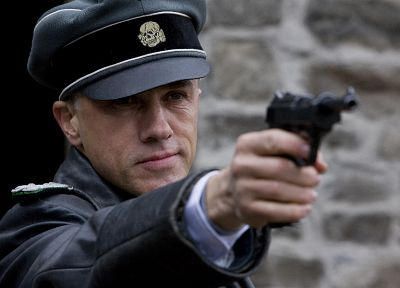 screenshots, Inglorious Basterds, Christoph Waltz - random desktop wallpaper