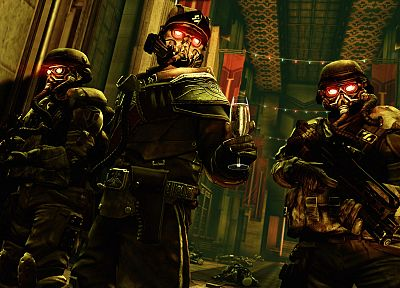 soldiers, video games, Killzone - related desktop wallpaper