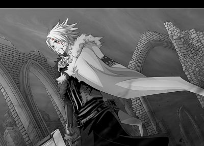D.Gray-man, Allen Walker - random desktop wallpaper