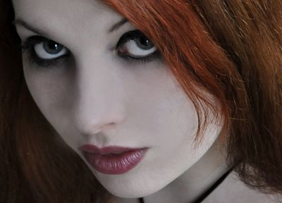 women, redheads, faces - related desktop wallpaper