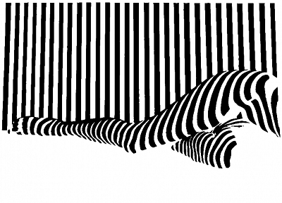black and white, stripes - random desktop wallpaper