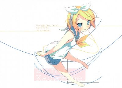 Vocaloid, Kagamine Rin - desktop wallpaper