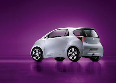 cars, Toyota, concept art, vehicles, concept cars, Toyota iQ - random desktop wallpaper