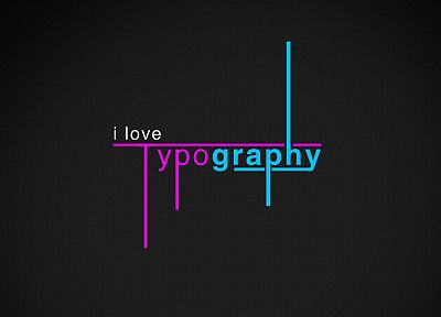 typography - random desktop wallpaper