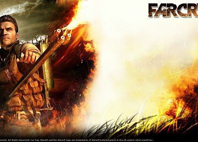 video games, Far Cry - desktop wallpaper