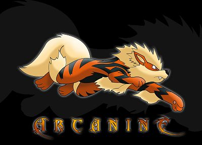Pokemon, Arcanine - desktop wallpaper