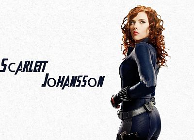 women, Scarlett Johansson, actress, Black Widow, Natasha Romanoff, The Avengers (movie) - random desktop wallpaper