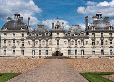 Loire Valley Castles, Cheverny - random desktop wallpaper