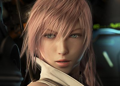 women, Final Fantasy, video games, Final Fantasy XIII, Claire Farron - random desktop wallpaper