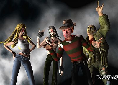 horror, video games, Freddy Krueger - desktop wallpaper