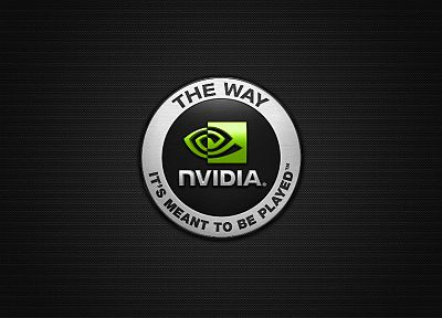 Nvidia, logos - related desktop wallpaper