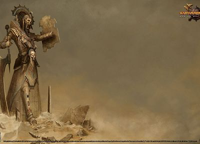 Warhammer Online, Warhammer, Egyptian - desktop wallpaper