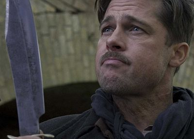 Brad Pitt, Inglorious Basterds - random desktop wallpaper