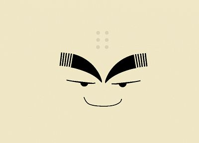 minimalistic, Dragon Ball Z, Krillin - desktop wallpaper