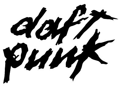 music, Daft Punk, electro, music bands, logos - random desktop wallpaper