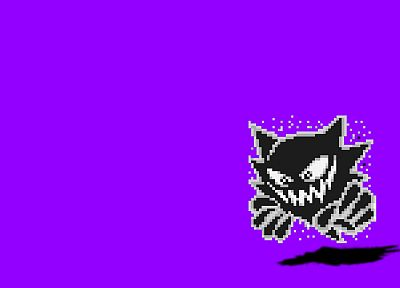 Pokemon, Haunter, simple background - random desktop wallpaper