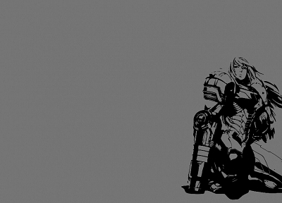 Metroid, women, video games, Samus Aran, artwork, simple background - random desktop wallpaper