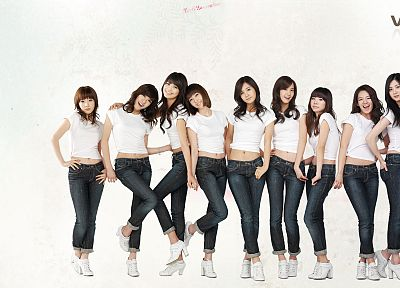 jeans, Girls Generation SNSD, celebrity, Seohyun, Korea, singers, Jessica Jung, Kim Taeyeon, Kwon Yuri, Im YoonA, Kim Hyoyeon, Choi Sooyoung, Lee Soon Kyu, Tiffany Hwang - related desktop wallpaper
