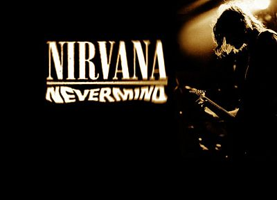 silhouettes, Nirvana, Kurt Cobain - related desktop wallpaper
