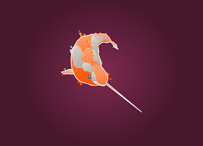 Ubuntu, Ubuntu 11.04 Natty Narwhal - random desktop wallpaper