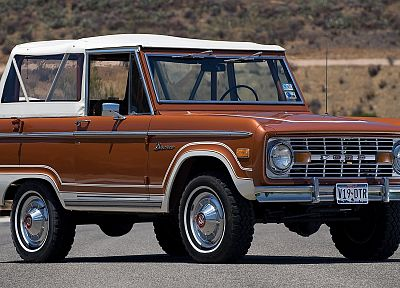 vintage, cars, Ford Bronco, classic cars - random desktop wallpaper