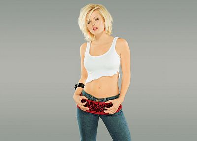 women, jeans, Elisha Cuthbert, actress - random desktop wallpaper