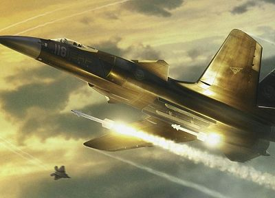 Ace Combat 4 - random desktop wallpaper