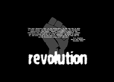 quotes, revolution - desktop wallpaper