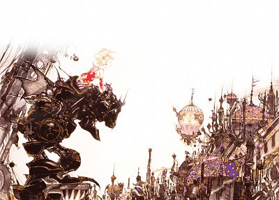Yoshitaka Amano, Final Fantasy IX, Final Fantasy VI - related desktop wallpaper