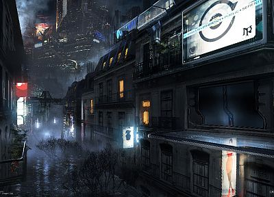 Paris, cityscapes, futuristic, pris, artwork, Remember Me - desktop wallpaper