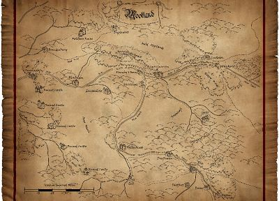 Warhammer, maps, role play - random desktop wallpaper