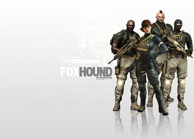video games, Metal Gear Solid, Fox Hound - random desktop wallpaper