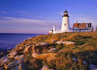 ocean, landscapes, lighthouses, seaside - related desktop wallpaper