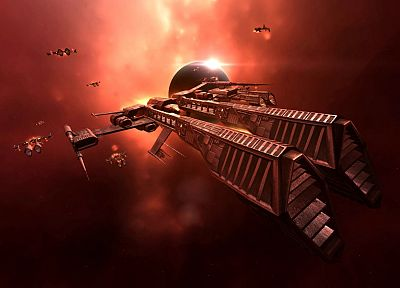 outer space, EVE Online, spaceships, vehicles - random desktop wallpaper