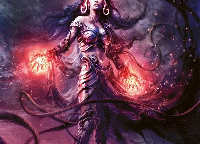 Magic: The Gathering, Liliana Vess - related desktop wallpaper