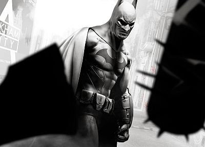 Batman, video games, heroes, Arkham City, Batman Arkham City - random desktop wallpaper
