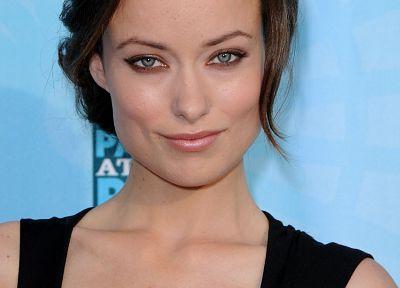 women, models, Olivia Wilde, faces - random desktop wallpaper