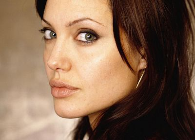 women, Angelina Jolie, faces - random desktop wallpaper