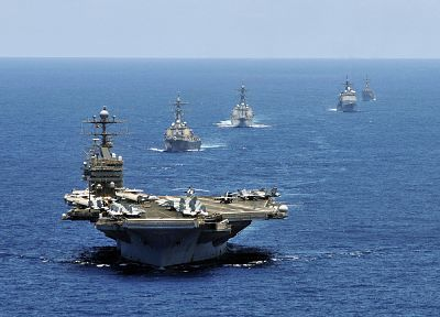 military, ships, aircraft carriers - desktop wallpaper